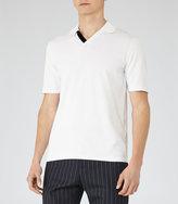 Reiss Capa Open Collar Polo Shirt
