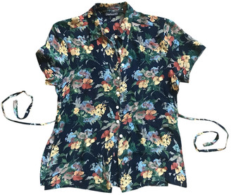 Cacharel Blue Top for Women Vintage