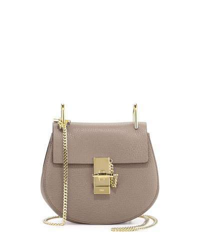 Chloé Drew Mini Lambskin Shoulder Bag