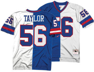 Mitchell & Ness Men Lawrence Taylor New York Giants Home & Away Split Legacy Jersey