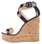 Giuseppe Zanotti Roz 90 Wedge Sandals w/ Tags