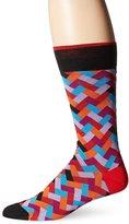 Bugatchi Men's Chevron Patterns Mens Fancy Sock