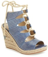 Johnston & Murphy Women's Mandy Perforated Wedge Sandal
