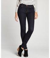 J Brand starless blue stretch denim mid-rise super skinny jeans