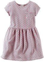 Carter's Girls 4-8 Geometric Pocket Dress