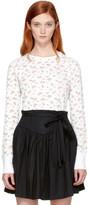 Marc Jacobs Ivory Mini Rose T-Shirt