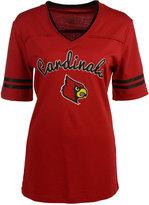 Colosseum Women's Louisville Cardinals Fair Catch T-Shirt