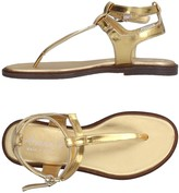 Armani Junior Toe strap sandals - Item 11241437