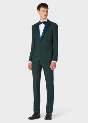 The Kensington - Men's Slim-Fit Emerald Green Wool-Mohair Evening Suit
