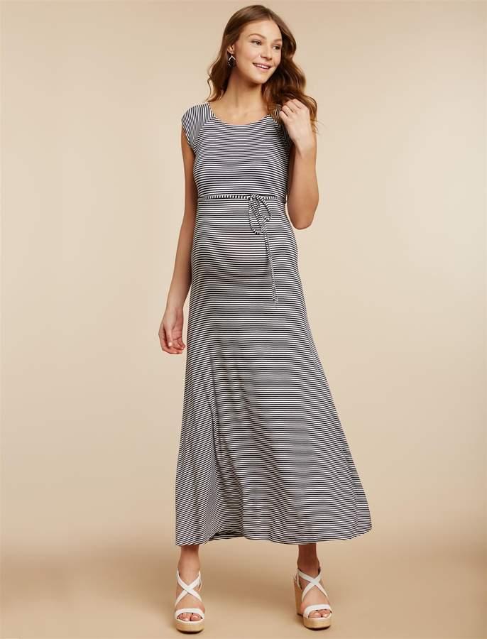 34656b73251cd White Maternity Maxi - ShopStyle