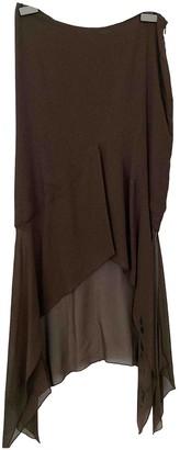 Romeo Gigli Brown Skirt for Women