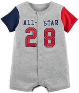 CARTERS Carters All Star Short Sleeve Creeper - Baby Boy