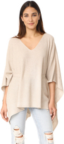 Elizabeth and James Fremont V Neck Rib Poncho