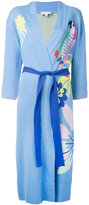Mira Mikati embroidered robe - women - Cotton - 36
