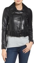 Rudsak Women's Tatoi Convertible Leather Moto Jacket