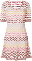 M Missoni zigzag pattern dress