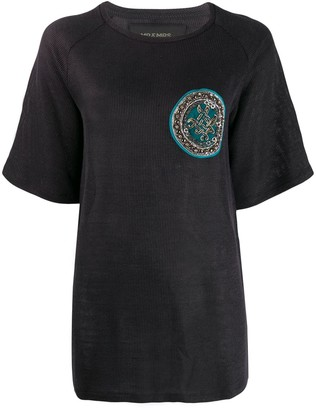 Mr & Mrs Italy embroidered T-shirt