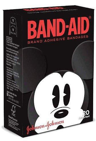 Johnson & Johnson Band-Aid Brand Adhesive Bandages - Mickey Mouse - 20 Count