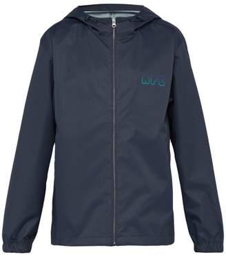 A.P.C. Touitronic Hooded Rain Jacket - Mens - Navy