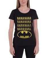 Batman T Shirt NaNa new Official DC Comics Womens Skinny Fit