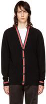 Givenchy Black Iconic Band Cardigan
