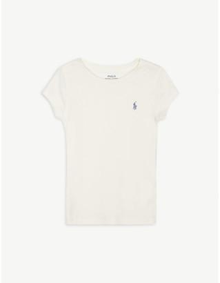 Ralph Lauren Logo cotton-blend T-shirt 5-14 years