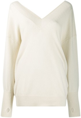 Tom Ford oversized v-neck jumper