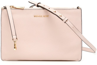 MICHAEL Michael Kors CROSSBODY CLUTCH OS Pink Leather