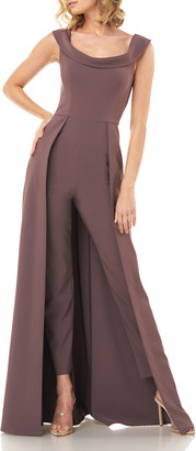 Kay Unger Jumpsuit Gown