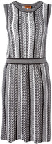 Missoni stripe panel dress - women - Silk/Cotton/Nylon/Wool - 40
