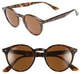 Ray-Ban Women's 'Highstreet' 49Mm Sunglasses - Black