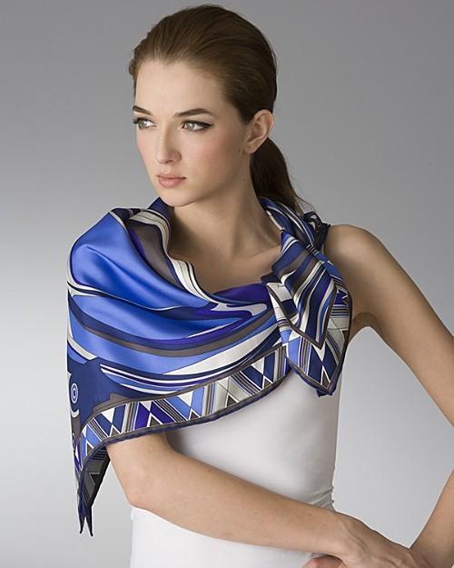 Emilio Pucci Cosmo Women's Silk Twill Scarf
