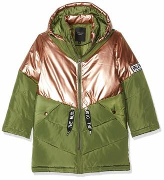 Name It Girl's Nkfmusic Long Puffer Jacket