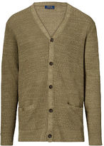 Big & Tall Polo Ralph Lauren Linen-Silk V-Neck Cardigan