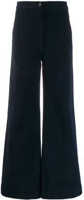 Katharine Hamnett Anna moleskin trousers