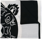 Kenzo Tiger scarf - women - Silk/Cotton/Modal - One Size