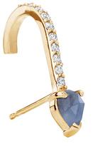 "Paige Novick Building Blocks"" Sapphire Suspender Earring"