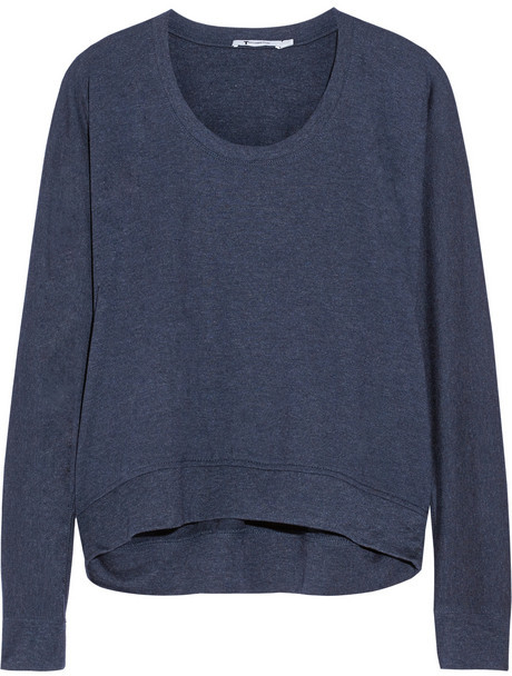Alexander Wang Marled French terry sweatshirt
