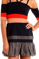 Coven Dress Multi Stripe