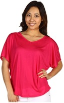 Culture Phit Raina Knit Top (Azalea) - Apparel
