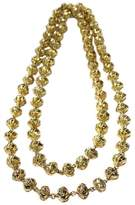 Chanel Gold Tone Byzance Bead Stread Byzantine Necklace
