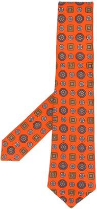Kiton Tile Print Tie