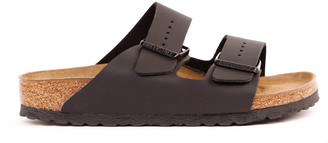 Birkenstock Black Leather Double-strap Sandals