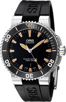 Oris Men's Swiss Automatic Stainless Steel Casual Watch (Model: 73376534159RS)