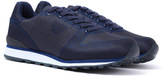 Armani Jeans Blue Graphite Lightweight Trainers