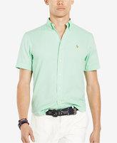Polo Ralph Lauren Men's Chambray Short Sleeve Oxford Shirt