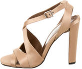 Marni Satin Ankle Strap Sandals