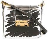 Lanvin 'Jiji' print shoulder bag