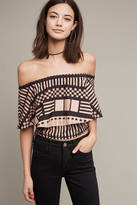 Tracy Reese Lola Off-The-Shoulder Flounce Top