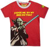 House of Fraser Fabric Flavours Boys Yoda judge me t-shirt